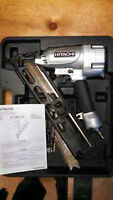 Hitachi 15 guage finish nailer