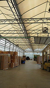 9 mils Boiler Room and Packing Shed Greenhouse Plastic