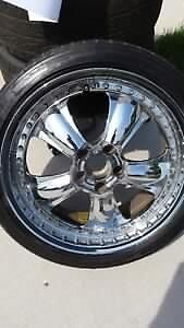 CHROME RIMS(18 inch)
