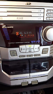 JVC 3-CD Stereo - Moving Sale