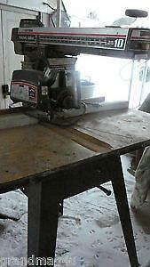 Craftsman 10 Radial Arm Saw Ebay