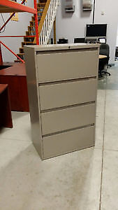 "Steelcase 4drawer - lateral file - 30""Wide - Beige"