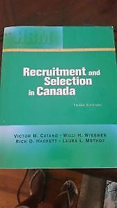 Recruitment and Selection in Canada 3rd Edition