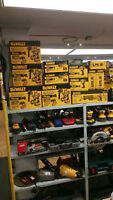 WOW LIQUIDATION D'OUTIL DEWALT XR 20V BRUSHLESS ROTER+MULTI TOOL