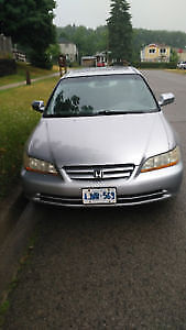 2001 Honda Accord Sedan EX