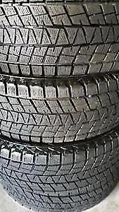 215/55R16 Bridgestone Blizzak 2 USED WINTER TIRES 90% TREAD LEFT