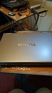 toshiba tecra laptop with battery,charger,power cord