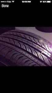 225/60R15	Michelin Energy MXV4 Set of 2 Used allseason tires 90%tread left Free Installation and Balance