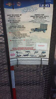 Trailer 4X6 ft, NEW, Never used, comes with tounge, ball hitch