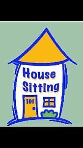 Free House Sitting Services October - end of December