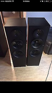 Nuance N200x2 Small towerx2 Centre speaker $500 OBO