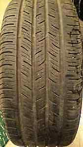GOOD SET OF 4 CONTINENTAL P-205-55-R-16 ALL SEASONS TIRES