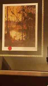 """Group of Seven Tom Thomson print 'Northern River"""", LE 513/695"""