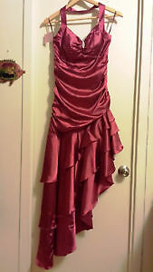 Robe rouge de Soirée, Gala, danse - Red evening, Gala Prom Dress