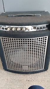 Used Yorkville Bass Master XM 100 bass amp at Dockside Music