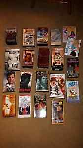 LOT of 18 Various VHS TAPES (plus 2 DVD's)