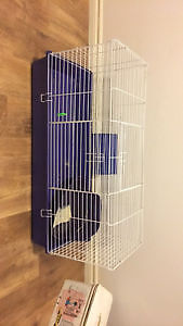 Purple Small Animal Cage