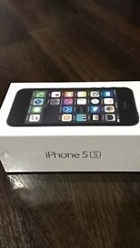 APPLE IPHONE 5S 16GB SPACE GREY (EE) SMARTPHONE - BRAND NEW/SEALED!