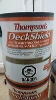 5 Gallons of Thompson's Deck Stain - Cedar Coloured