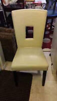 ONE LEATHER DINING CHAIR FOR SALE
