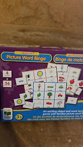 Word/Picture Bingo Game (Unopened and Sealed!) Kingston Kingston Area image 1