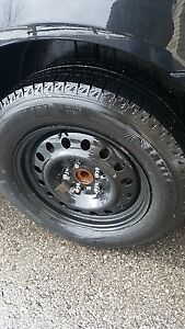 Michelin X Ice with rims  225 65 R17