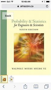 Probability and Statistics for Engineers and Scientists (9th Ed)