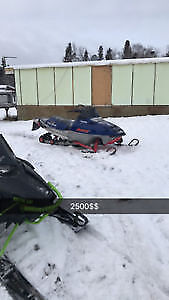 2008 IQRR 600 and 2003 rmk 800