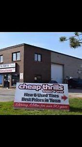CHEAP THRILLS WHEELS AND TIRES