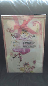 NEW Growth charts for a girl, in sealed packages.
