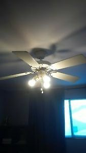 "42"" WHITE CEILING FAN"
