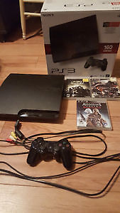 ps3 1controller 3 games 100$