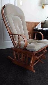 Rocking chair, glider style