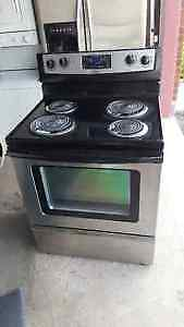 Whirlpool Stainless Steel Coil Top Range