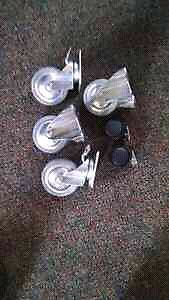 Caster wheels new and cheap