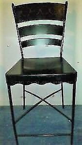 Pier One wrought iron bar stools