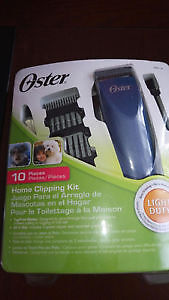 Brand New Oster home clipping kit for pets