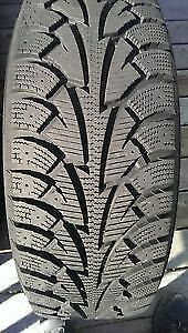 winter tires and rims size 18in 225/60/18 bolt5by115 like new