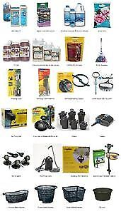 Pond Supplies, Pumps, Filters, Aerators and more