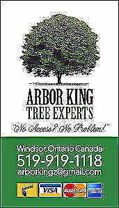 30% OFF TIL Jan1st / HAPPY HOLIDAYS FROM ARBOR KING TREE EXPERTS