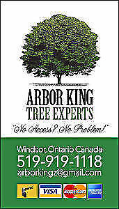 FREE QUOTES / CALL ARBOR KING TREE EXPERTS !! TODAY !!