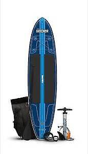 PADDLEBOARD INFLATABLE with knapsack to carry on trips