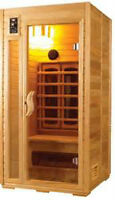moving sale - 1 person infered portable sauna