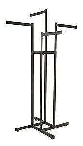 4-Way w/ Straight Arms - Rectangular Tubing - Black - $75