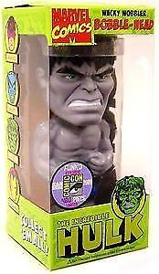 Grey Hulk wacky wobbler SDCC 1/480 new in box funko bobble head