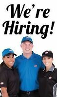 FULL TIME & PART TIME EMPLOYEES NEEDED AT DAIRY QUEENS