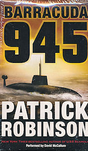 Audio book  - Barracuda 945 by Patrick Robinson    -   Cass