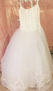 David's Bridal Princess Gown