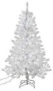 Argos Home 7ft Pre Lit Christmas Tree White In Sherwood