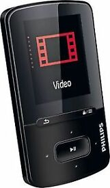 Philips Go gear 4GB MP3/ MP4 player